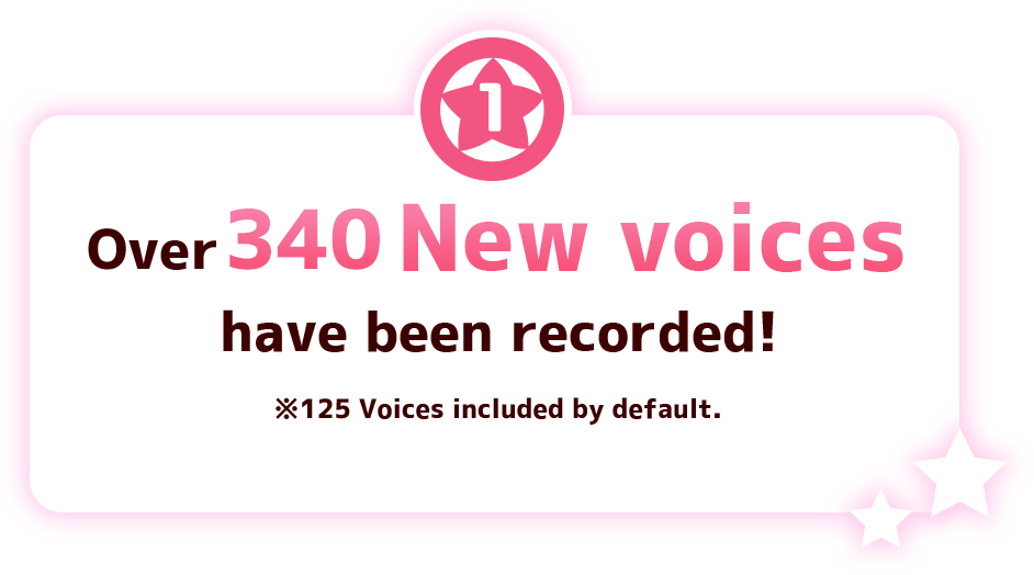 Over 250 New voices have been recorded!